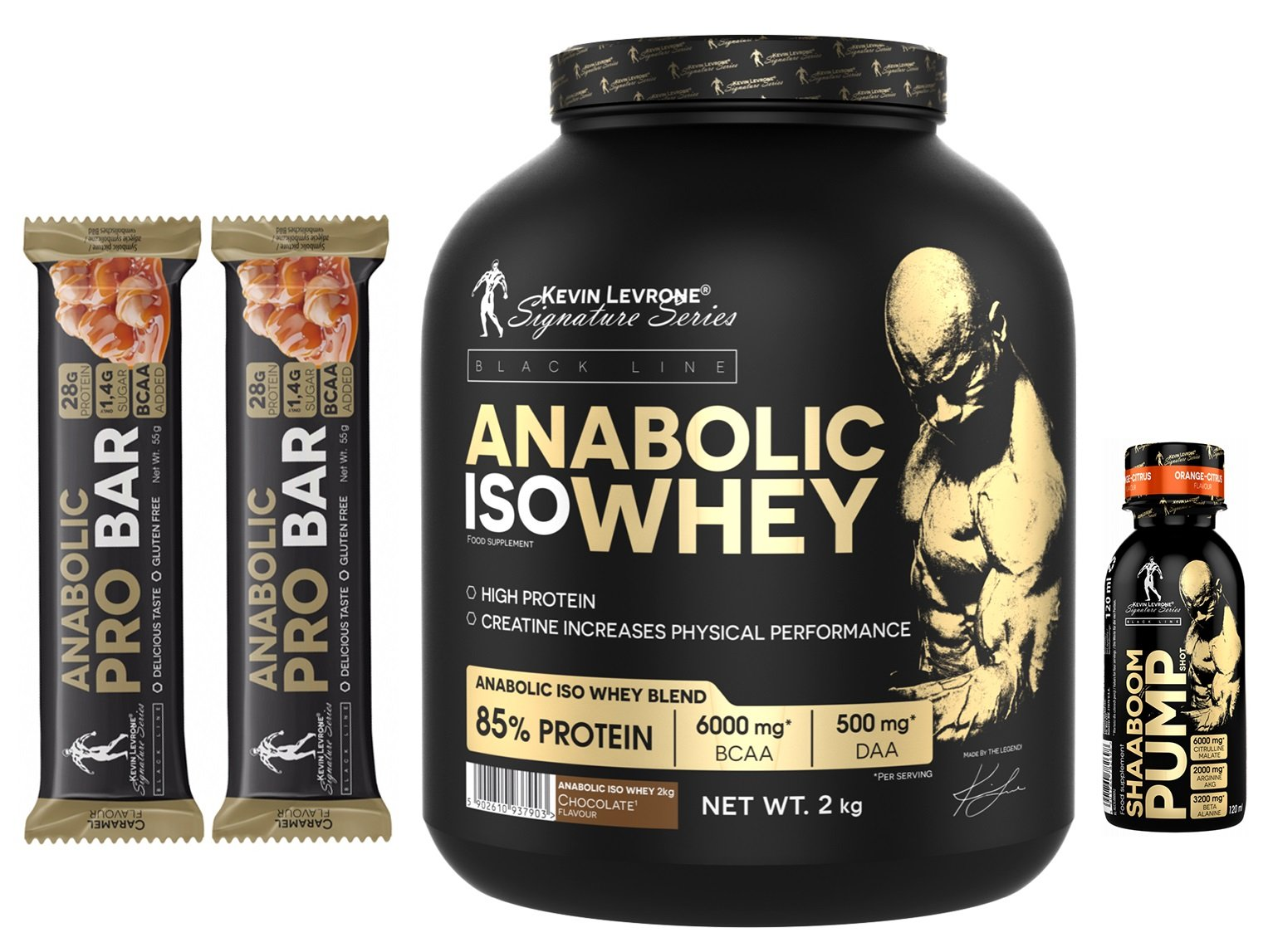 Anabolic Iso Whey - Kevin Levrone 2000 g Cookies with Cream