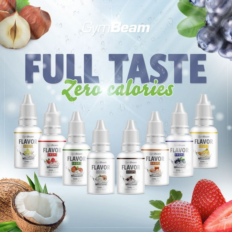 Flavor Drops - GymBeam 50 ml. Vanilla