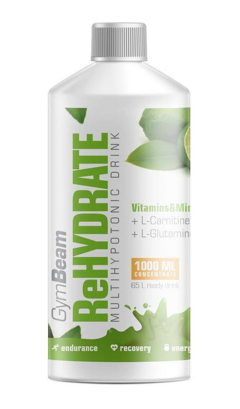 Rehydrataci - GymBeam 1000 ml. Mojito
