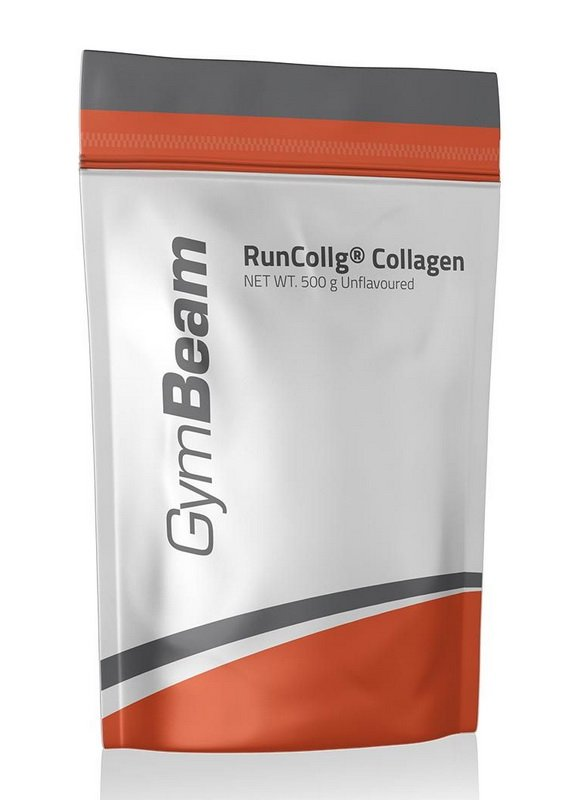 RunCollg Collagen - GymBeam 500 g Strawberry Kiwi