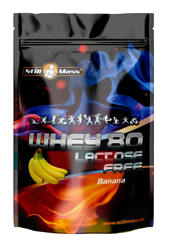 Whey 80 Lactose Free - Still Mass 1000 g Double Chocolate
