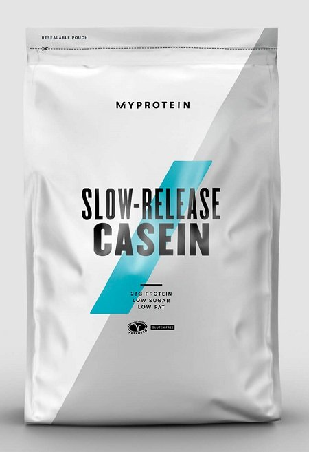 Slow-Release Casein - MyProtein 1000 g Strawberry