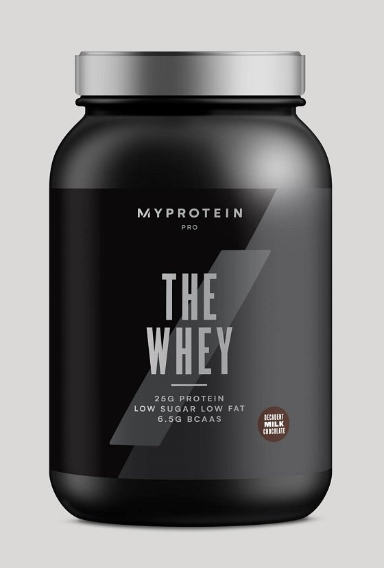 THE WHEY - MyProtein 870 - 900 g Chocolate Caramel