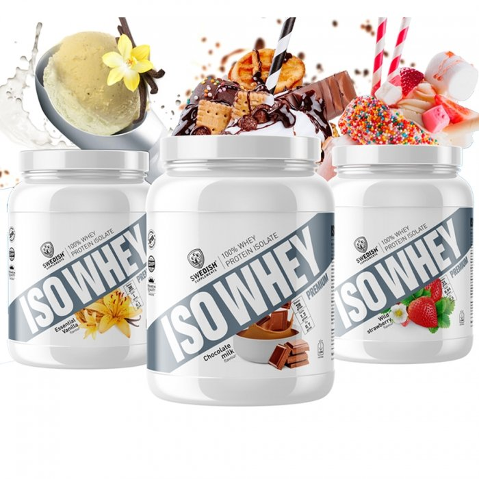 Iso Whey Premium - Swedish Supplements 920 g Cookies & Cream