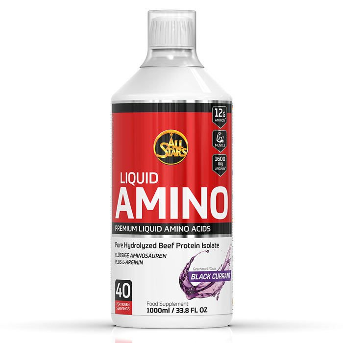 Amino Liquid - All Stars 1000 ml. Black Currant