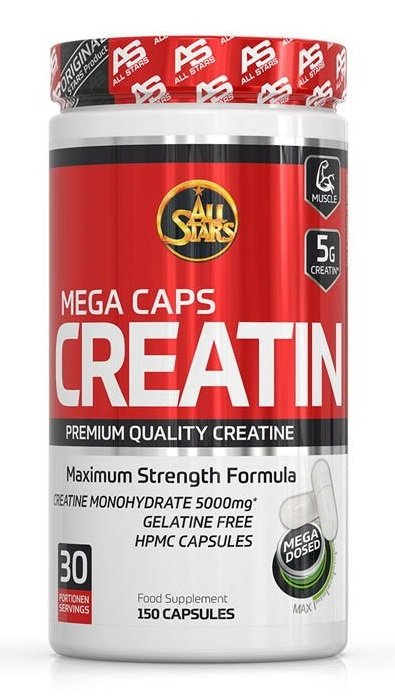 Creatin Mega Caps - All Stars 150 kaps.