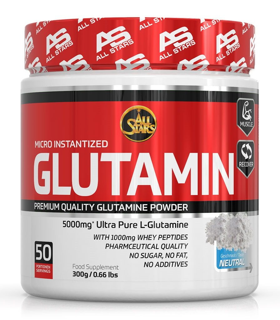 Glutamin Micro Instantized - All Stars 300 g Neutral