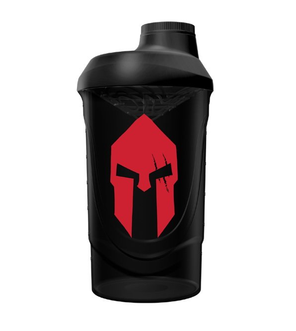 Spartan Shaker Black (Red Mask) - Gods Rage 600 ml.