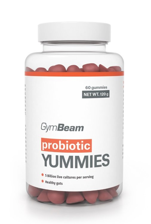 Probiotic Yummy - GymBeam 60 kaps.